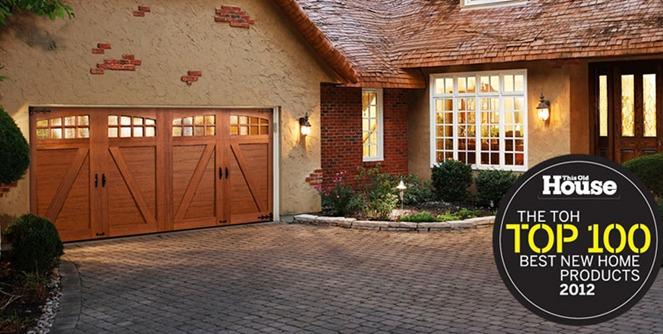 fauz Wood Custom Garage Doors