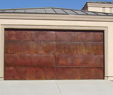 Chandler AZ Custom Copper Garage Doors