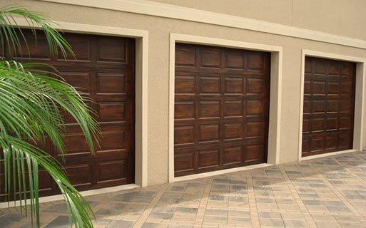 Custom Faux Wood Garage Door s Phoenix AZ