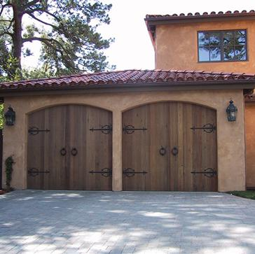 custom wood garage doors Gilbert, AZ